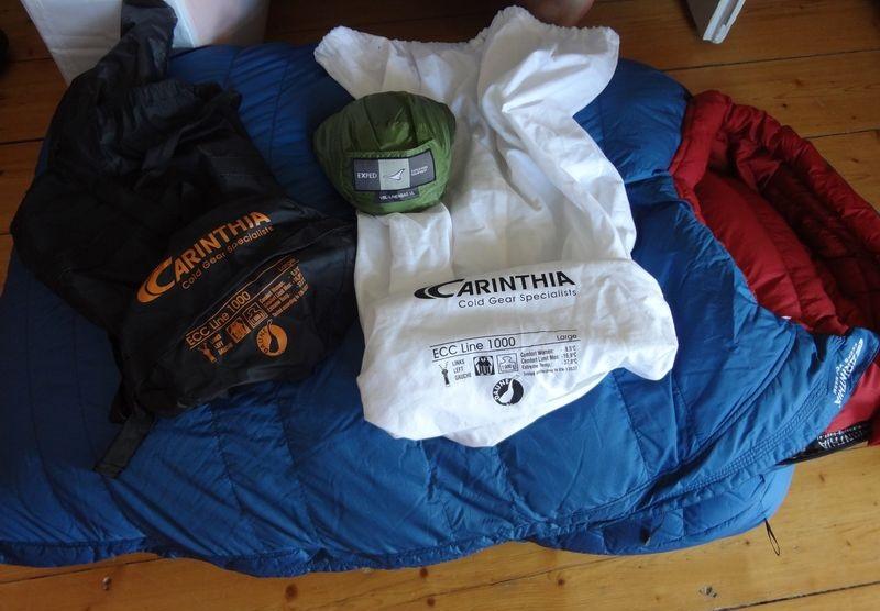 "Daunenschlafsack Carinthia ""ECC Line 1000"""