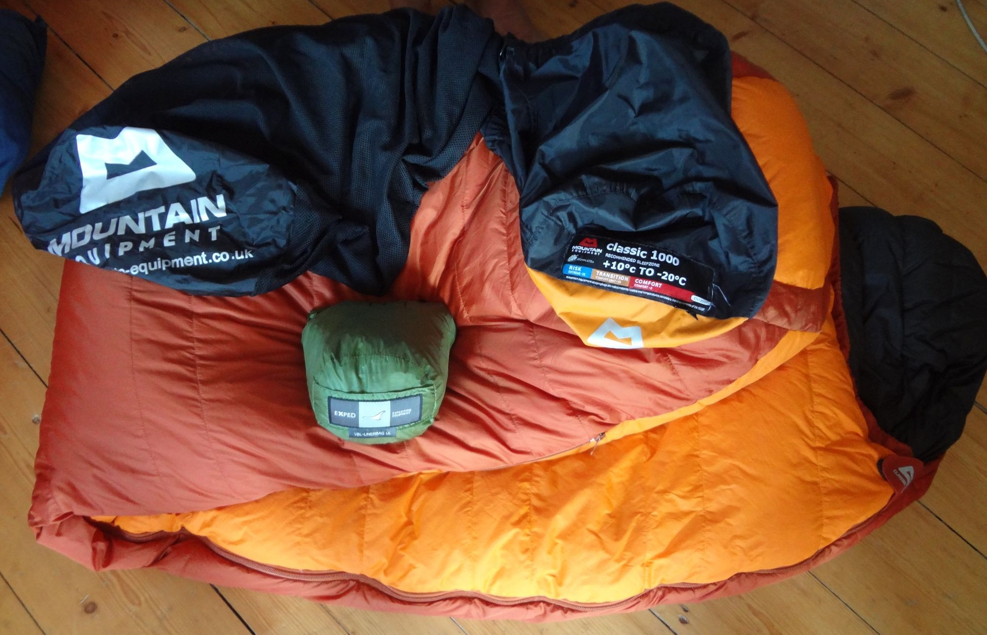 "Daunenschlafsack Mountain Equipment ""classic 1000"""