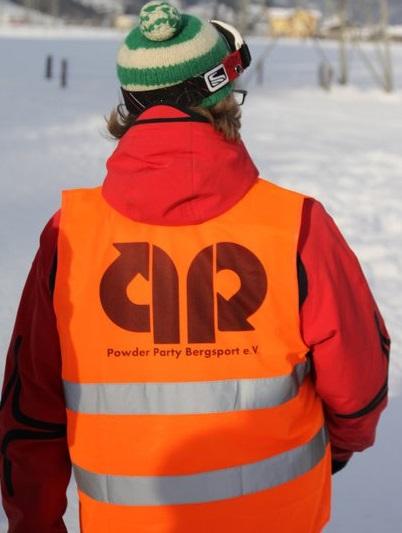 Warnwesten mit PP-Logo